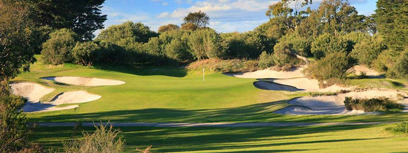 Royal Melbourne corporate golf event